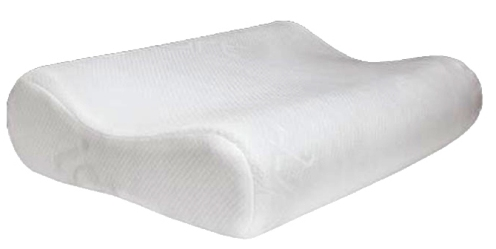 Memory Foam Contour Pillow specially designed to support your neck , so that the neck is not burdened by the weight of your head that eventually you can avoid neck and shoulder pain when I wake up the next morning . Made of high quality memory foam . Contour Memory Foam Pillow provides a different sleeping experience. Protective cushion comes with a zipper that can be removed and washed.