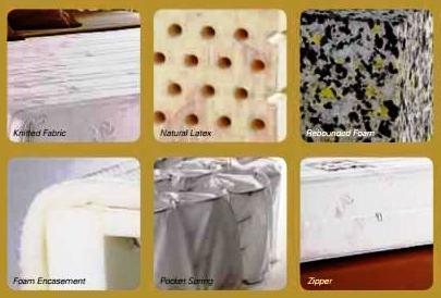Mattress pocket spring latex